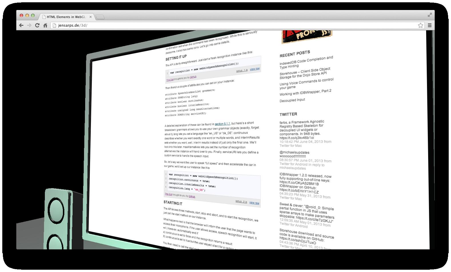 WebGL | Jens Arps